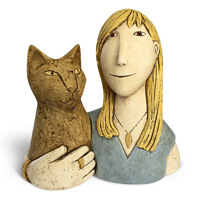 Clay Portraits