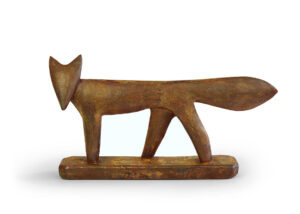 Fox - NEW for 2020 - 34x19cm - iron resin ltd edition of 50 - £495